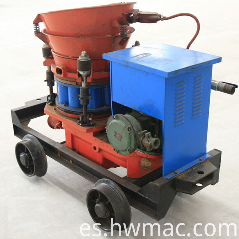 Mining use shotcrete machine